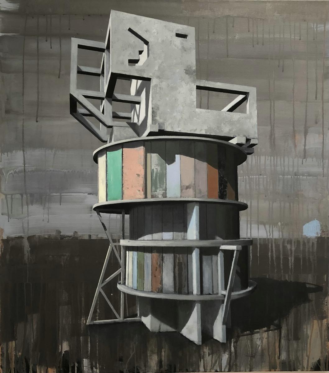 für immer allein - Ausstellung von Roland Boden, 2020 bei Rahmen und Kunst, Berlin