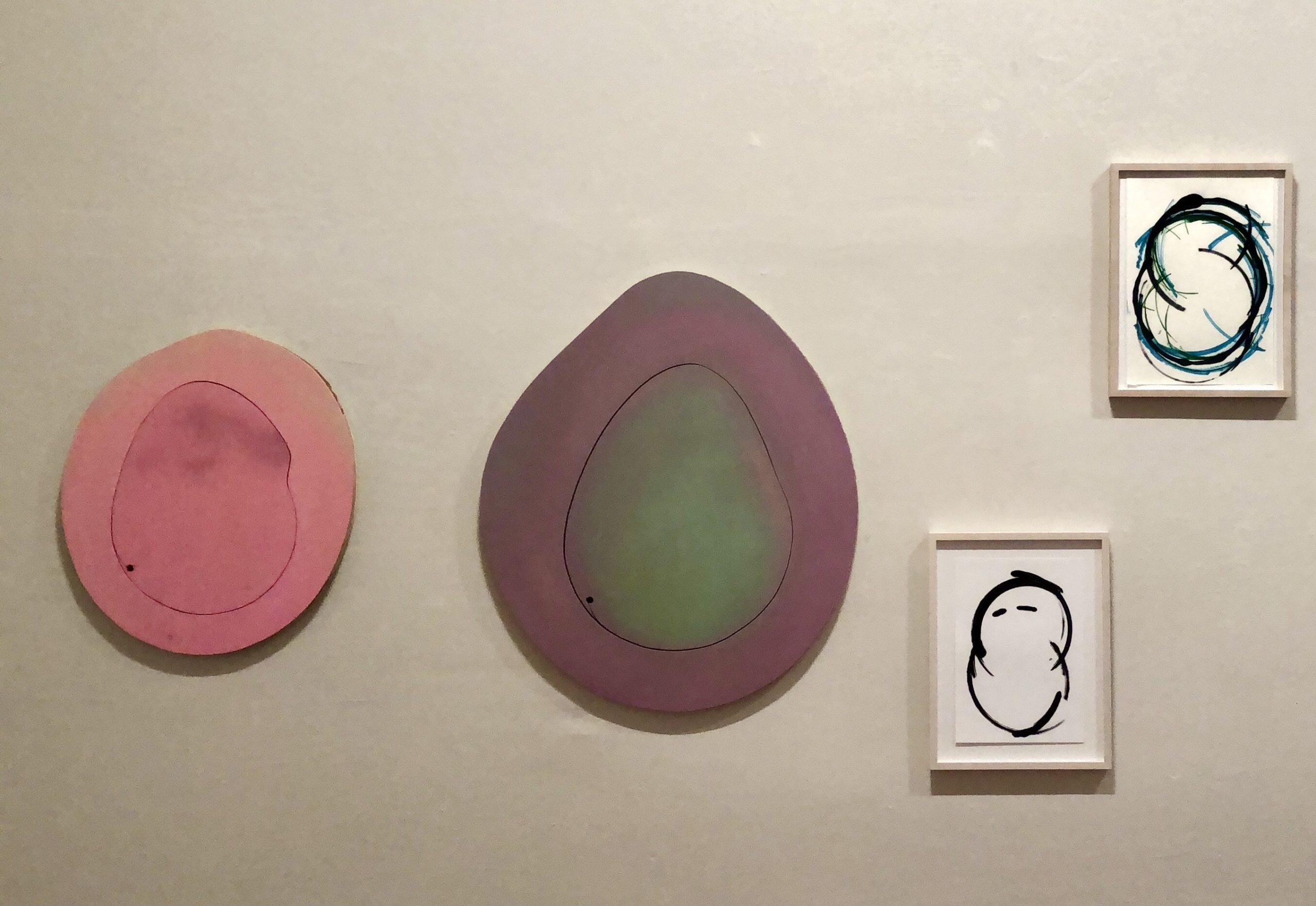 Between one and two! - Ausstellung 2021, Rahmen & Kunst, Berlin: Arbeiten von Christel Fetzer