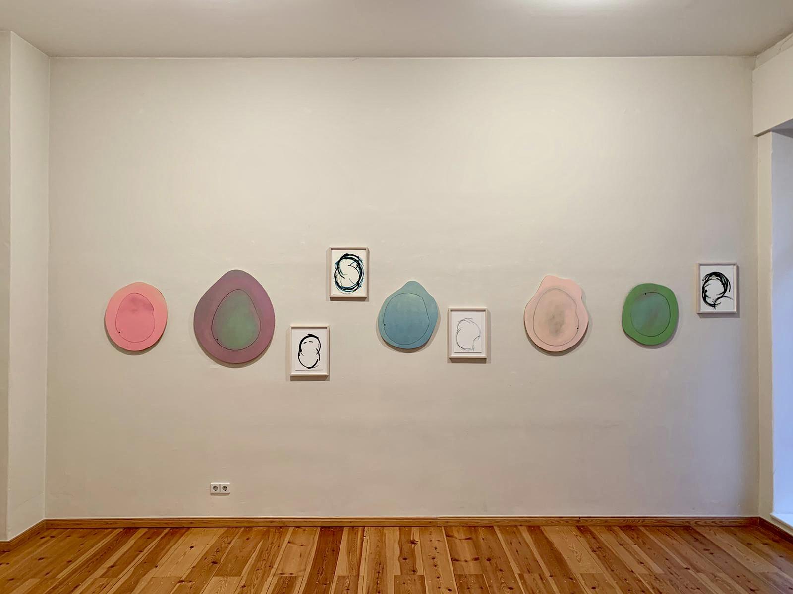 Between one and two! - Ausstellung von Christel Fetzer, 2021 bei Rahmen und Kunst, Berlin