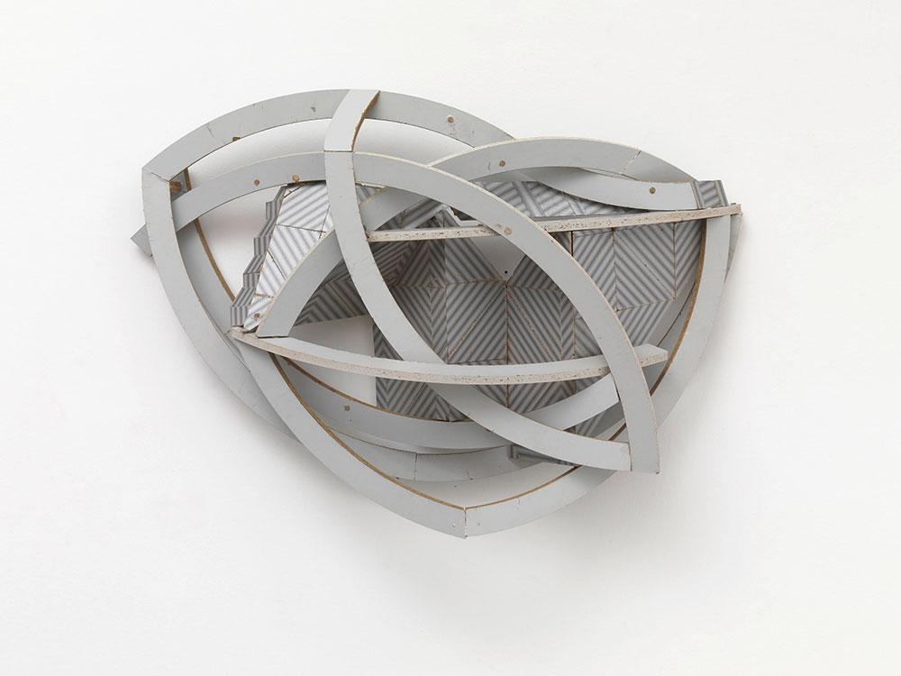 Karsten Konrad, Atom heart mother, 2009, 60 x 45 x 25 cm, formika, wood